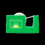 up-tape-web-green-flat-logo