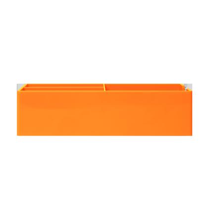 up-tray-orange-flat-blank