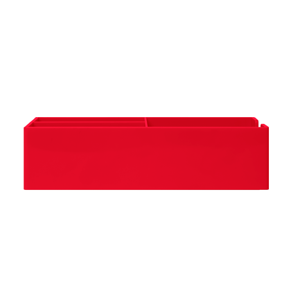 up-tray-red-flat-blank